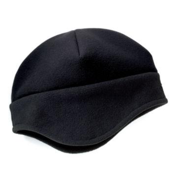 Windproof Fleece Hat - BLACK image number 0