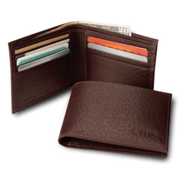 American Bison Thinfold Leather Wallet -