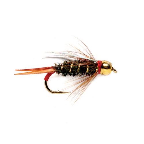 A gold-bead headed fly