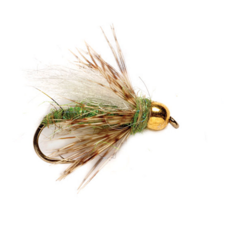 Bead Head Soft Hackle Caddis Pupa Fly -  image number 0