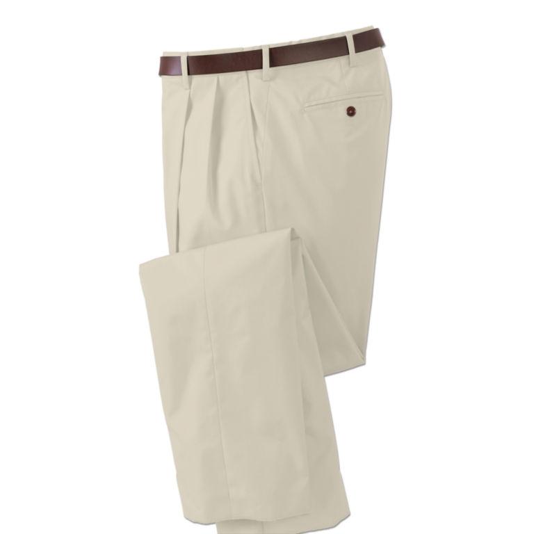 Poplin Expandable Comfort-Waist Pants -  image number 0