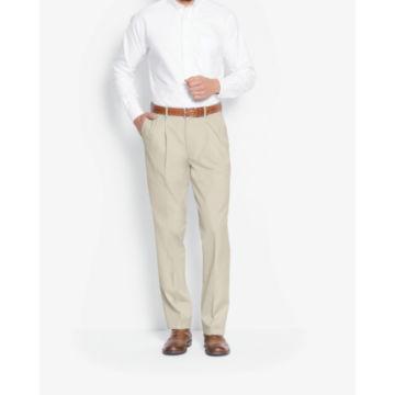 Poplin Expandable Comfort-Waist Pants -  image number 1