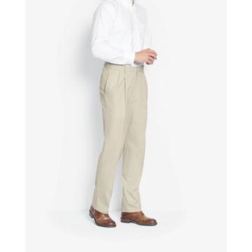 Poplin Expandable Comfort-Waist Pants -  image number 2