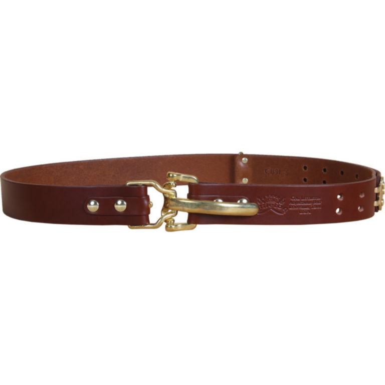 Bridle Leather Cinch Belt - BRASS image number 2