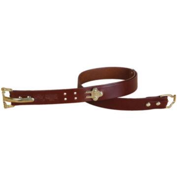 Bridle Leather Cinch Belt - BRASS image number 3