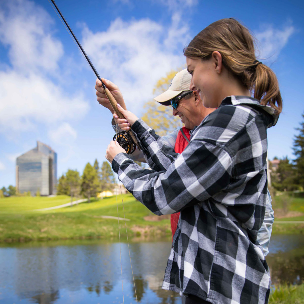 Traverse City, Michigan Fly Fishing School / 1-Day School - image number 0