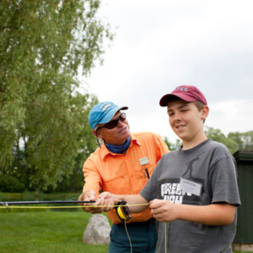 Harrisonburg, Virginia Fly-Fishing School -