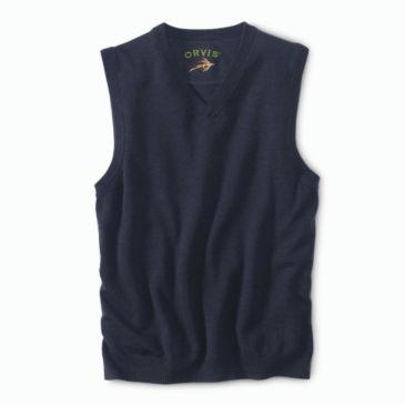 Merino V-Neck Vest Pullover -