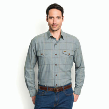 Fairbanks Brushed Herringbone Flannel Shirt -  image number 1