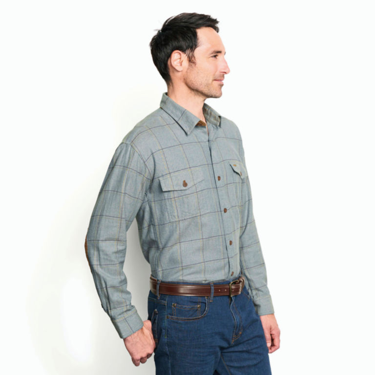 Fairbanks Brushed Herringbone Flannel Shirt -  image number 3