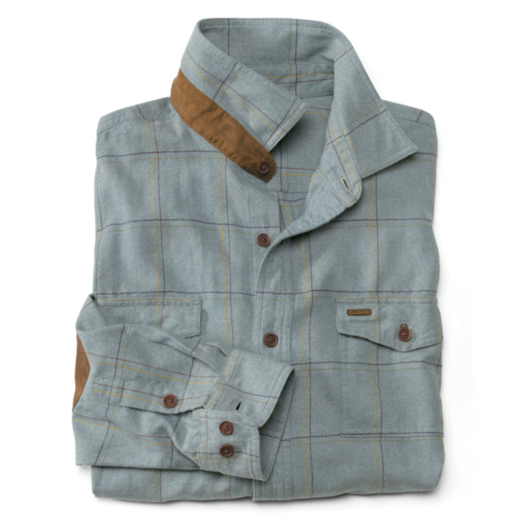 Fairbanks Brushed Herringbone Flannel Shirt -  image number 1