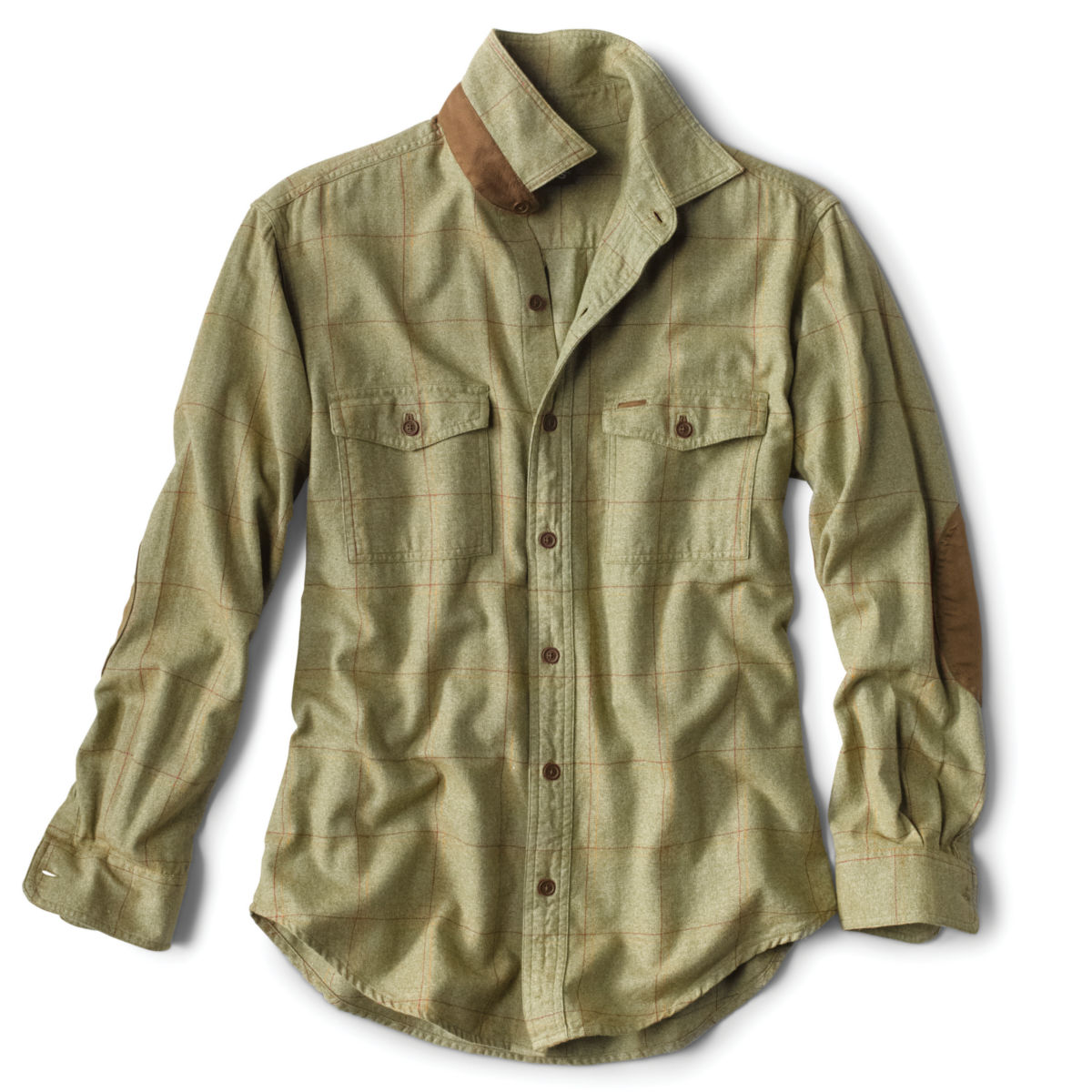 Fairbanks Brushed Herringbone Flannel Shirt - image number 0