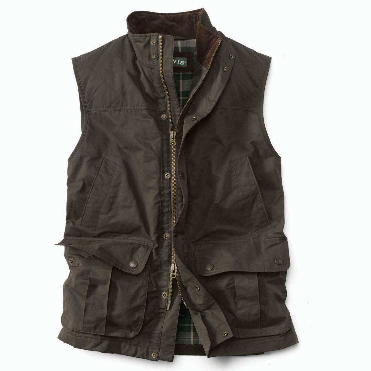 Sandanona Wax Cloth Vest - image number 0