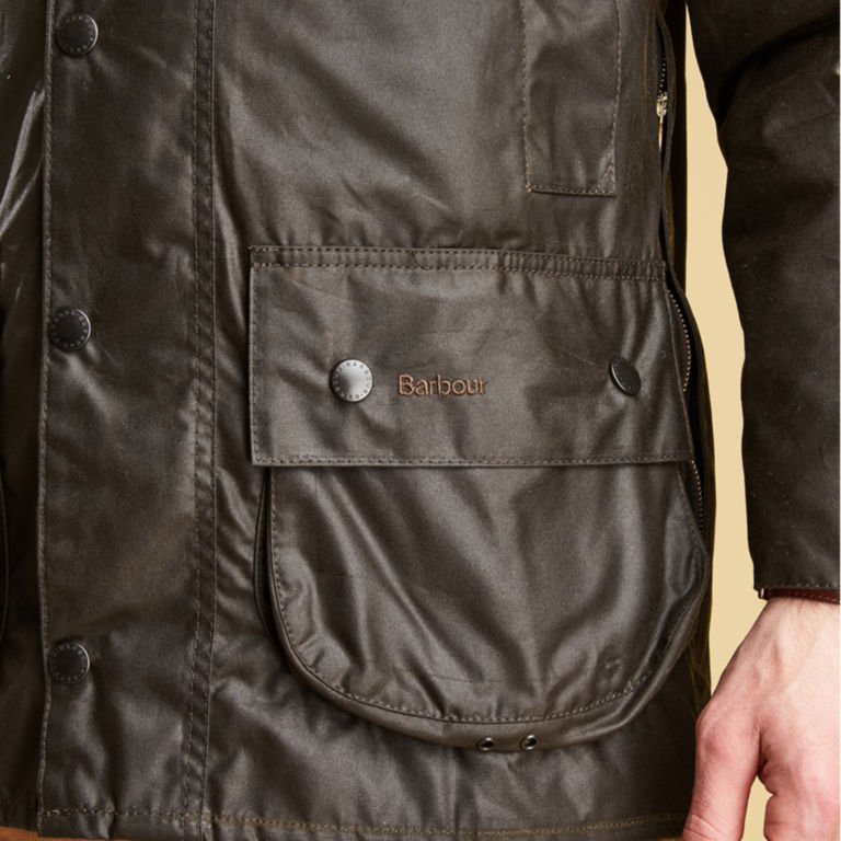 Barbour® Classic Beaufort Jacket - OLIVE image number 5