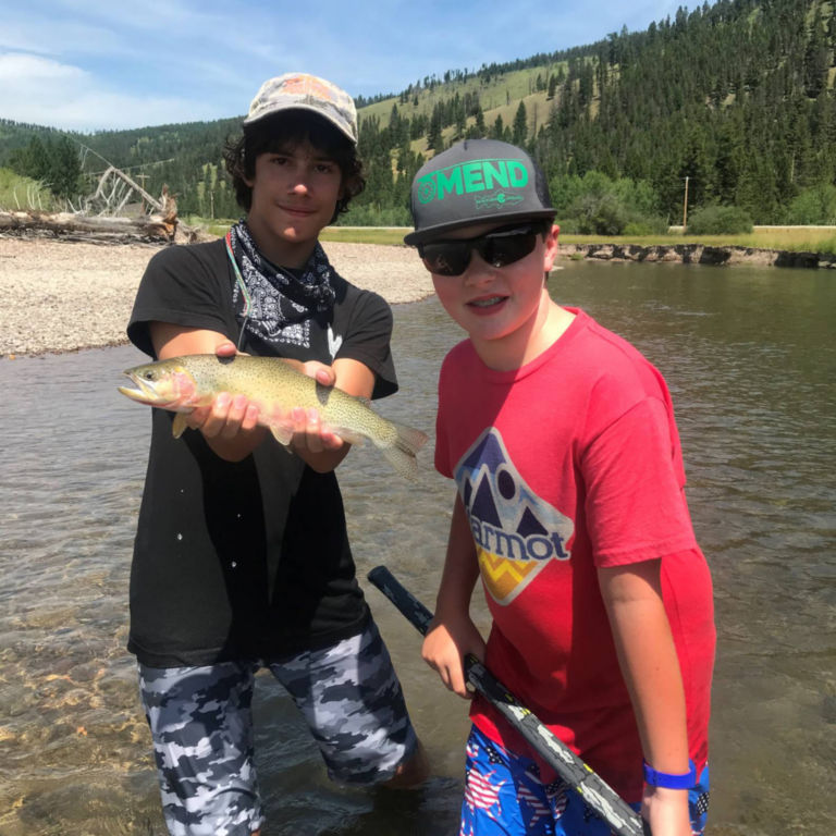 PRO Outfitters' Fly Fishing Camp for Kids -  image number 2