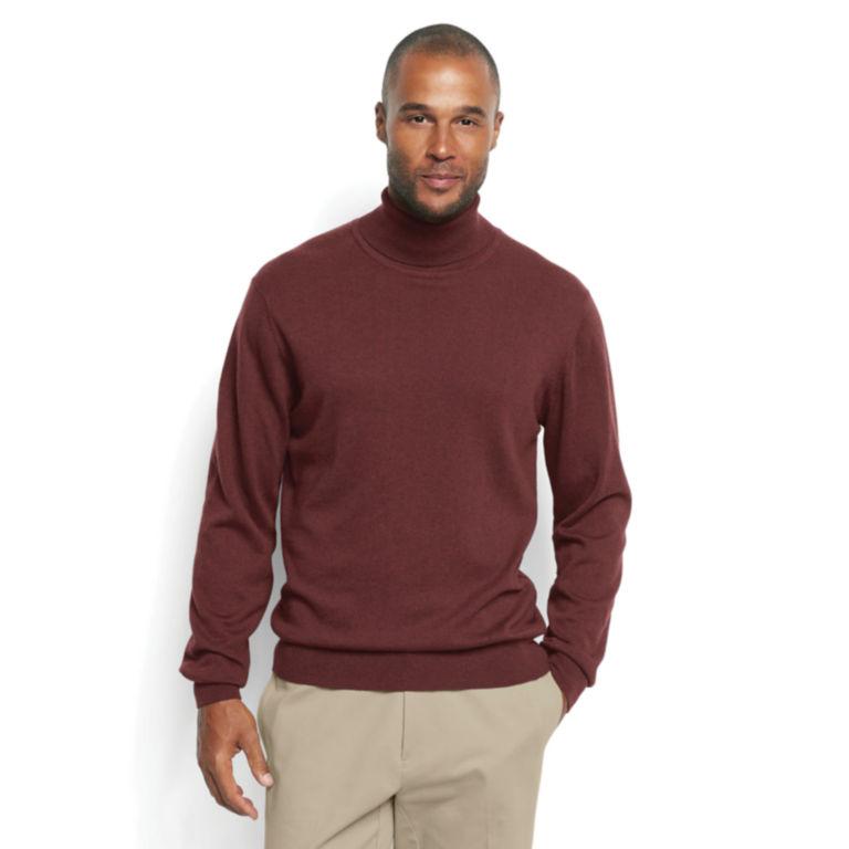 Cotton/Silk/Cashmere Turtleneck -  image number 1