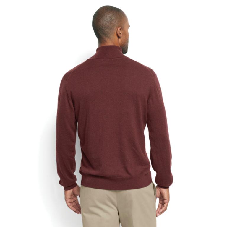 Cotton/Silk/Cashmere Turtleneck -  image number 3