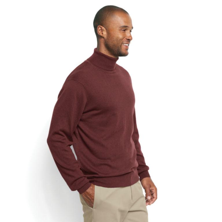 Cotton/Silk/Cashmere Turtleneck -  image number 2