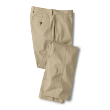 Ultimate Khakis Trim Fit - Plain Front -
