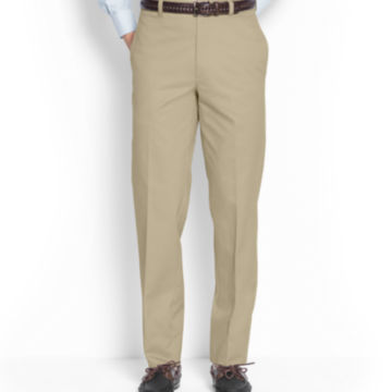 Ultimate Khakis Trim Fit - Plain Front -  image number 1