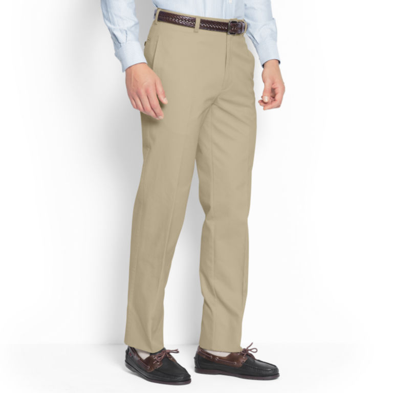 Ultimate Khakis Trim Fit - Plain Front -  image number 2