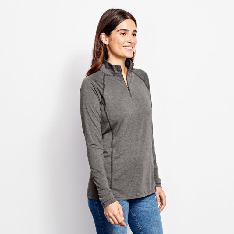 Women's drirelease®  Long-Sleeved Quarter-Zip Tee -  image number 1