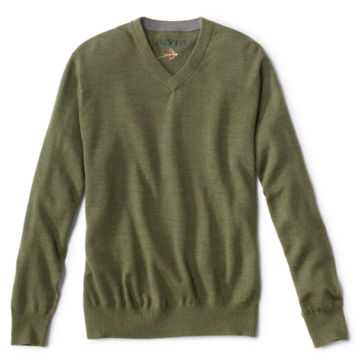 Merino Wool V-Neck Sweater -  image number 0
