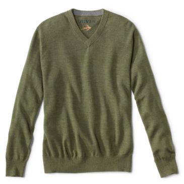 Merino Wool V-Neck Sweater -