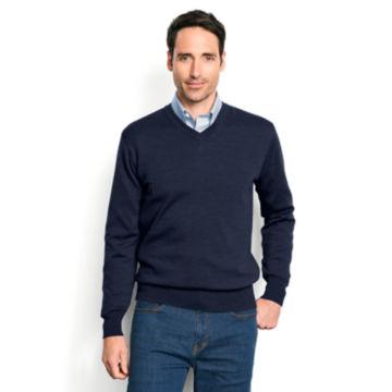 Merino Wool V-Neck Sweater -  image number 1