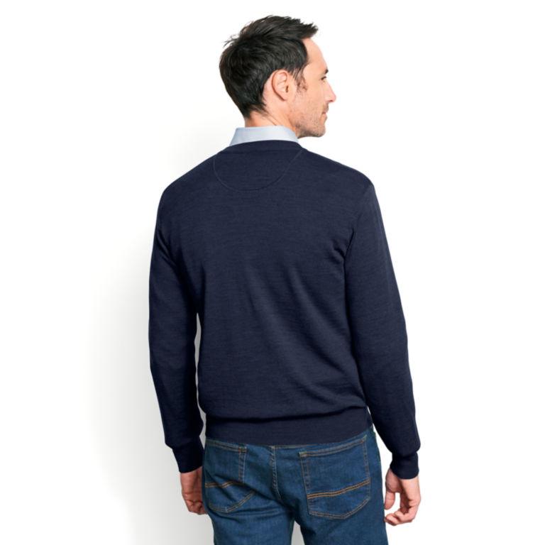Merino Wool V-Neck Sweater -  image number 3