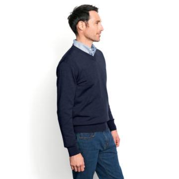 Merino Wool V-Neck Sweater -  image number 2