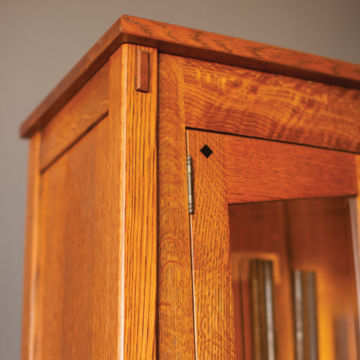 Quarter-Sawn Oak Gun Cabinet -  image number 2