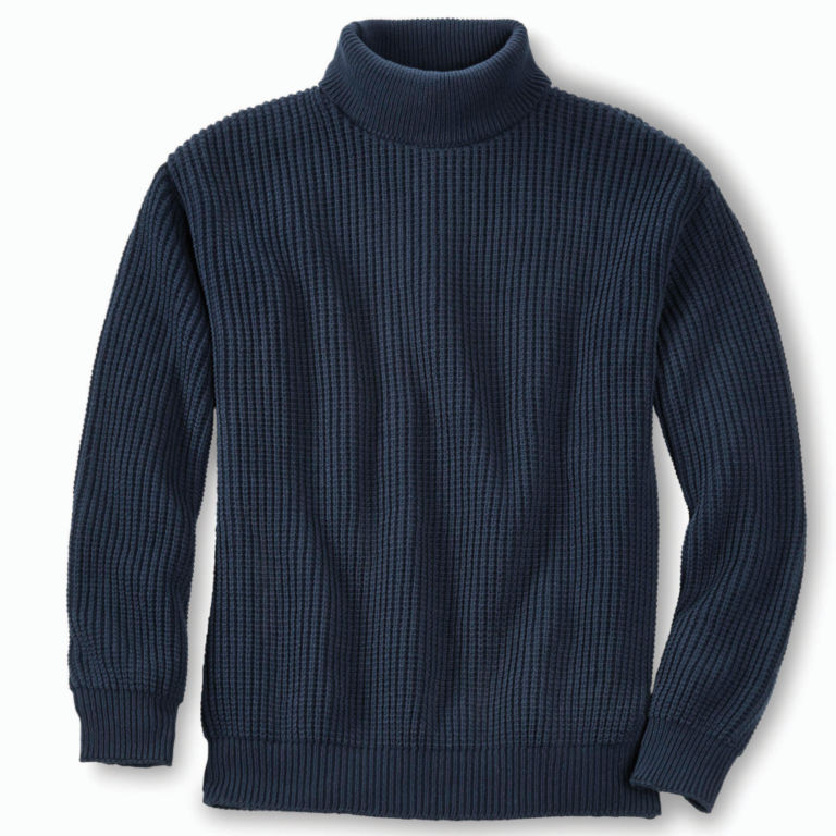 Cotton Submariner's Sweater - NAVY image number 0
