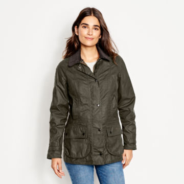 Barbour® Women's Classic Beadnell Jacket - OLIVE image number 1