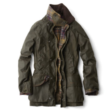 Barbour® Women's Classic Beadnell Jacket - OLIVE image number 0