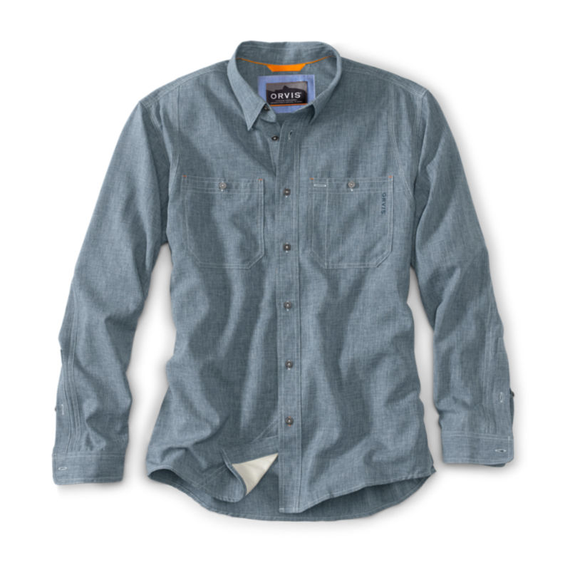 Tech Chambray Work Shirt - Regular