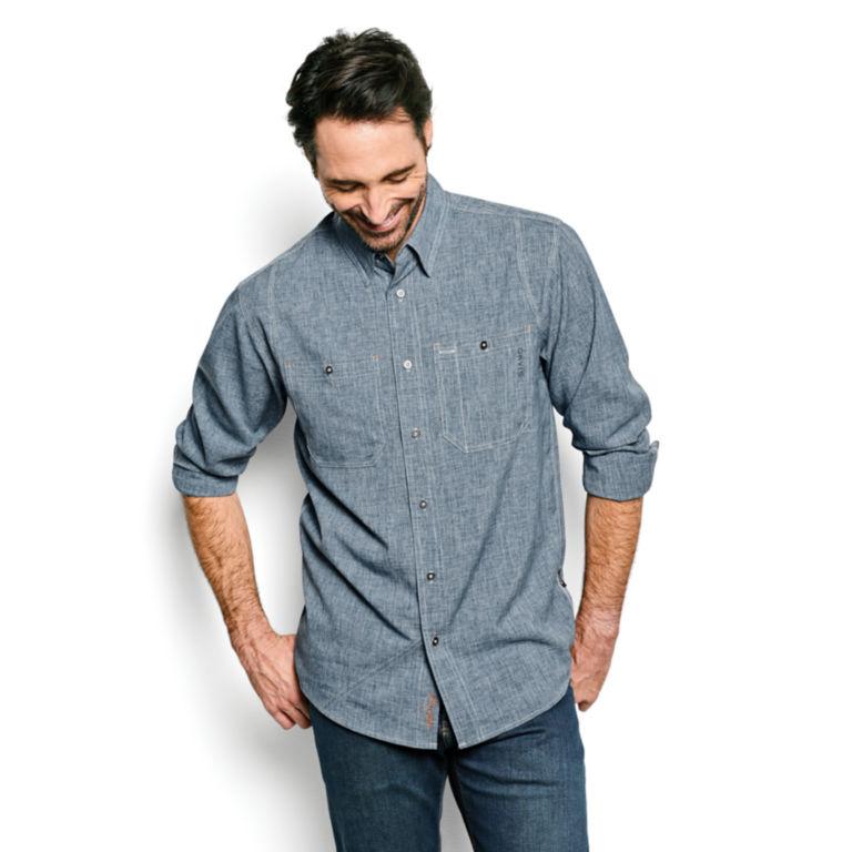Tech Chambray Work Shirt - Regular -  image number 1