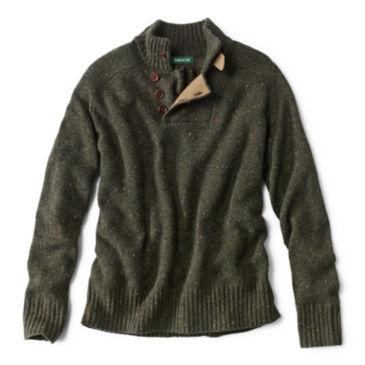 Merino/Cashmere Donegal Sweater -