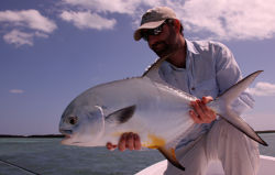 man holding a large fish