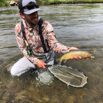 Orvis Week at Hubbard's Yellowstone Lodge -  image number 1