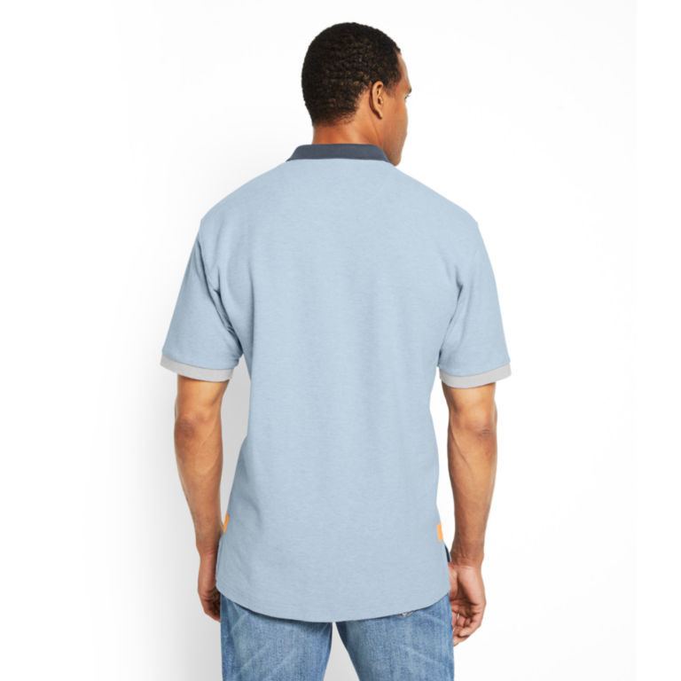 Signature Polo Contrast-Trim Shirt -  image number 3