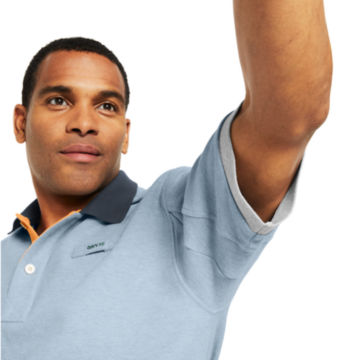 Signature Polo Contrast-Trim Shirt -  image number 4