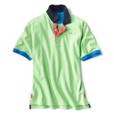 Signature Polo Contrast-Trim Shirt