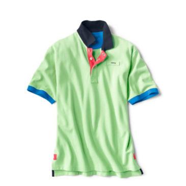 Signature Polo Contrast-Trim Shirt -