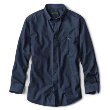 Wrinkle-Free Pure Cotton Denim Shirt -