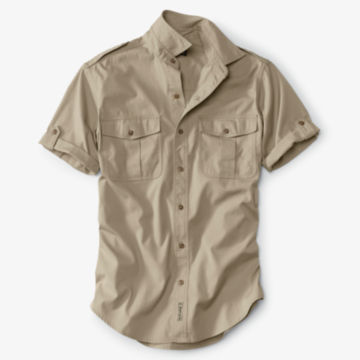 Short-Sleeved Bush Shirt - image number 0