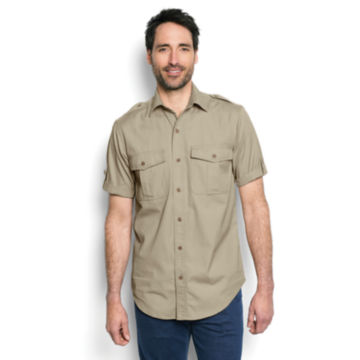 Short-Sleeved Bush Shirt - image number 1