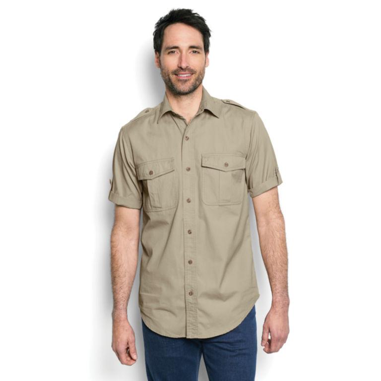 Short-Sleeved Bush Shirt -  image number 1
