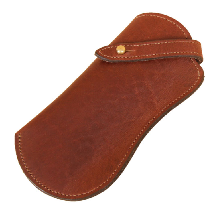Leather Eyeglass Case - BROWN image number 0