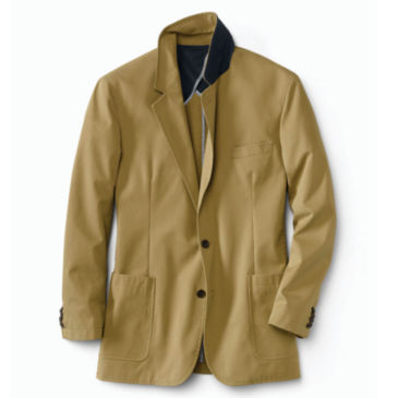Washed Casual Sport Coat -